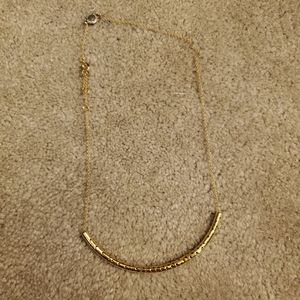 Marc by marc Jacob's gold collar necklace